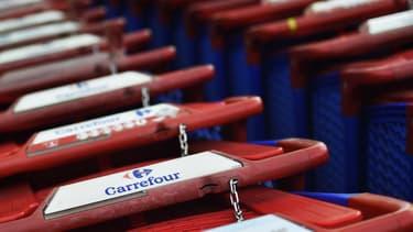 Le titre Carrefour chute après ses résultats annuels