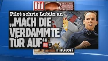 Andreas Lubitz ne répond à aucun moment à son pilote, selon Bild.