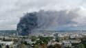 Un incendie s'est déclenché dans l'usine chimique Lubrizol à Rouen le 26 septembre