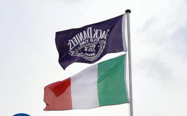 Le drapeau incriminé.