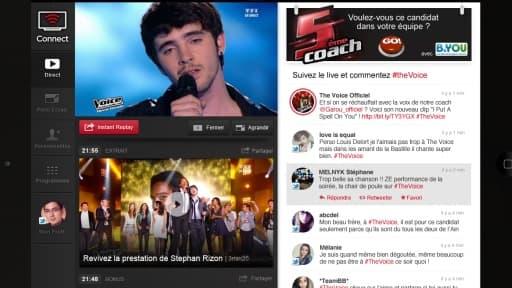 """Six mois après M6, TF1 lance à son tour son application de """"social TV"""""""