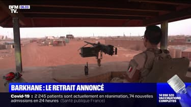 Emmanuel Macron a annoncé la fin de l'opération Barkhane au Mali