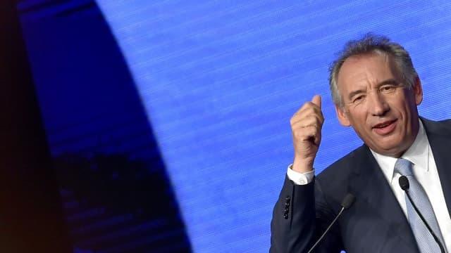 François Bayrou le 25 septembre 2016 à Guidel.