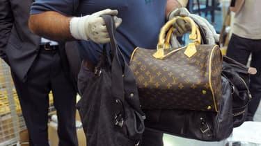 Des sacs Louis Vuitton et Chanel saisis en 2012