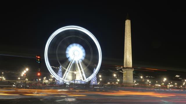 Au coeur de ces propositions des centristes, la grande roue de Marcel Campion, installée place de la Concorde.