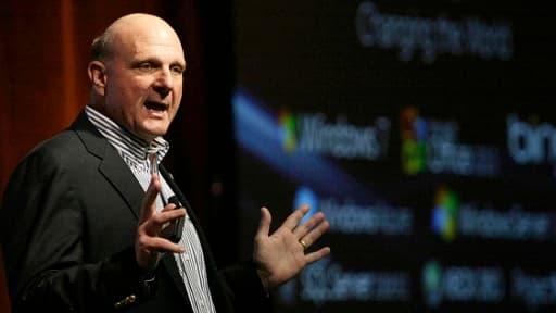 Steve Ballmer est l'une des figures emblématique de Microsoft avec Bill Gates et Paul Allen.