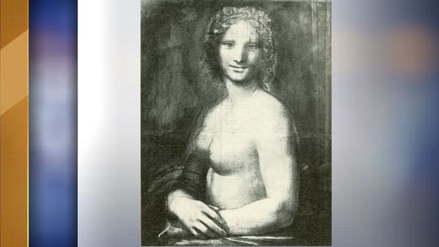 La Joconde nue - Image d'illustration