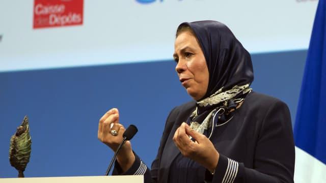 Latifa Ibn Ziaten, la mère d'une victime de Mohamed Merah a été récompensée par la fondation Chirac en novembre.