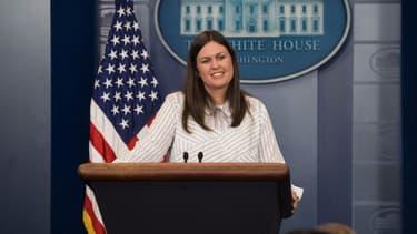 Sarah Huckabee Sanders, ancienne porte-parole de la Maison Blanche - NICHOLAS KAMM / AFP