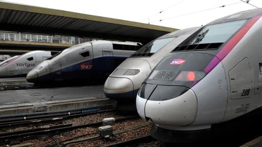 La baisse de valeur des TGV devrait tirer les résultats de la SNCF dans le rouge pour 2013.