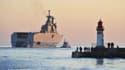 La vente des navires Mistral à la Russie est toujours suspendue.