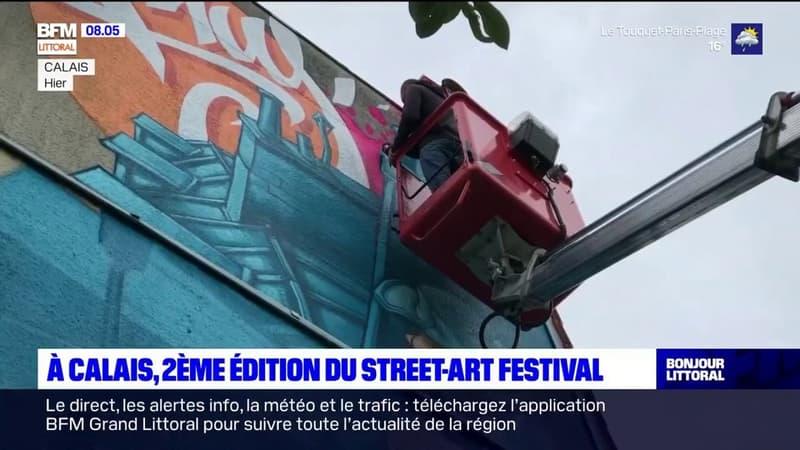 Calais: deuxième édition du street-art festival
