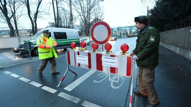 Une bombe britannique datant de la Seconde Guerre mondiale a été retrouvée à Augsbourg, dans le sud de l'Allemagne