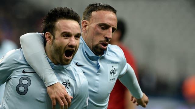 Valbuena et Ribéry