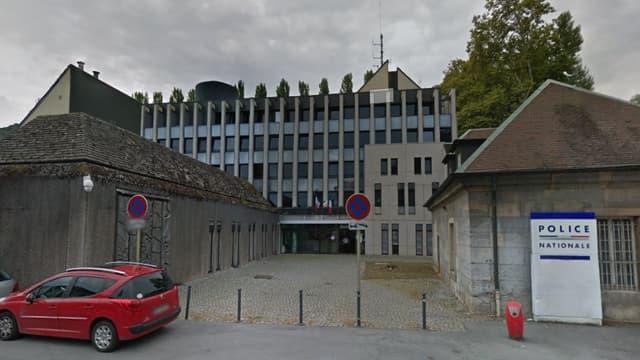 Le commissariat de Besançon.