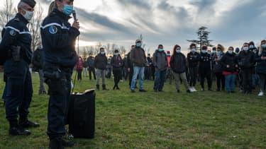 Une battue citoyenne à Cagnac-les-Mines, le 23 décembre 2020