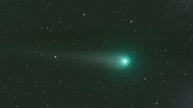 La comète Lulin, en février 2009.