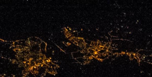 Une autre vue de Rome prise de l'ISS.