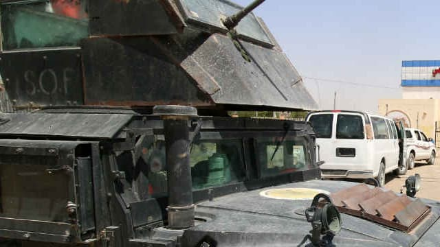 L'armée irakienne avait lancé l'offensive contre Daesh à Fallouja il y a plusieurs semaines.