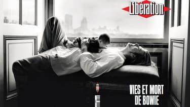 David Bowie en couverture de Libération