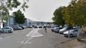 Le parking du centre commercial Leclerc