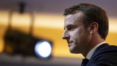 """Selon Odoxa, les deux-tiers des Français jugent aujourd'hui """"mauvaise"""" la politique économique conduite par Emmanuel Macron."""