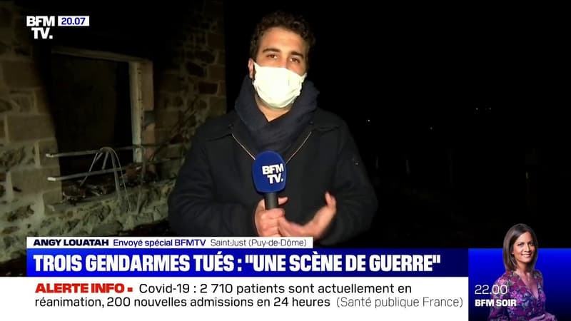Gendarme tués: le procureur de la République de Clermont-Ferrand décrit