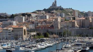 Vue de Marseille - Image d'illustration