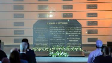 Une cérémonie d'hommage aux victimes du crash du vol MS804