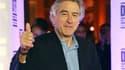 """Robert de Niro présidera du 11 au 22 mai le jury du 64e Festival de Cannes. L'acteur américain de 67 ans a joué dans deux films récompensés de la palme d'or: """"Taxi Driver"""" de Martin Scorsese en 1976 et """"Mission"""" de Roland Joffé, dix ans après. /Photo d'ar"""