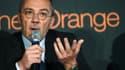 Le PDG d'Orange, Stéphane Richard
