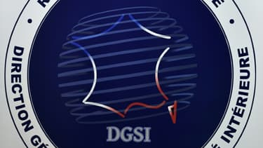 Le logo de la DGSI en novembre 2018 à Levallois-Perret