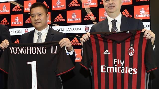 Li Yonghong, le propriétaire de l'AC Milan