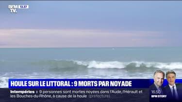 Qu'est-ce que la houle, responsable de neuf morts par noyade dans le sud-est du pays ?