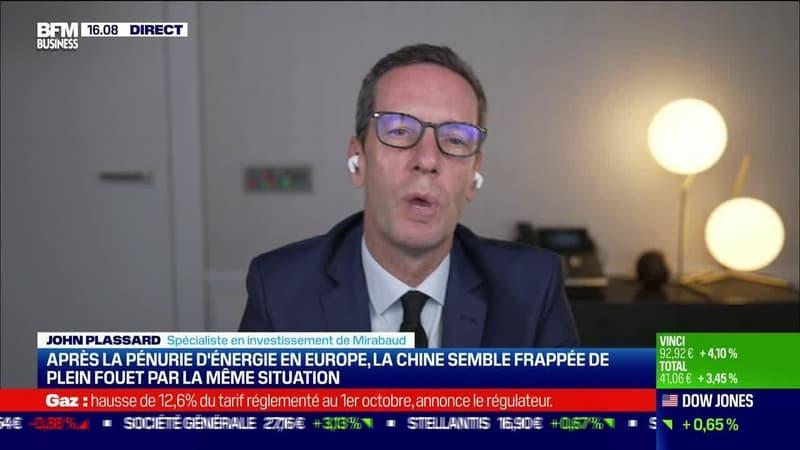 John Plassard (Mirabaud) : Après la pénurie d'énergie en Europe, la Chine semble frappée de plein fouet par la même situation - 27/09