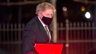 Boris Johnson, le Premier ministre britannique, ici photographié le 9 décembre.