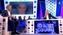 Nicolas Dupont-Aignan et Laurent Ruquier dans ONPC