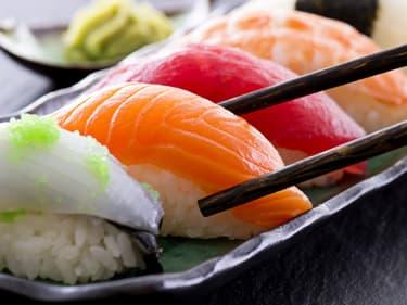 Les sushis (les vrais) utilisent de la chair de poisson