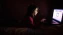 Les enfants exposés aux dangers d'Internet.
