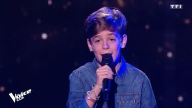 "Arnaud dans ""The Voice Kids"""