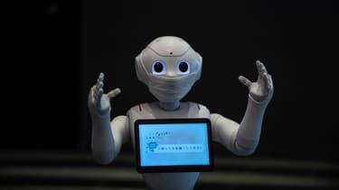 Le robot Pepper, de SoftBank Robotics