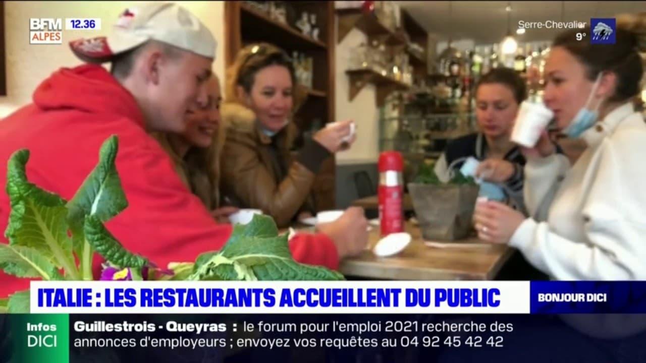Italie: les Français profitent de la réouverture des bars et des restaurants