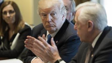 Donald Trump le 09 janvier 2018