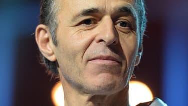 Jean-Jacques Goldman, lors d'un concert des Enfoirés en 2014