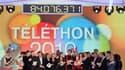 Le compteur du Téléthon 2010 a atteint dans la nuit de samedi à dimanche un peu plus de 84 millions d'euros de promesses de dons, un total en baisse par rapport à l'an dernier. /Photo prise le 4 décembre 2010/REUTERS/Gonzalo Fuentes