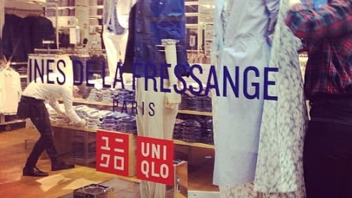 La première collection d'Inès de la Fressange pour Uniqlo est commercialisée en France ce 12 mars.