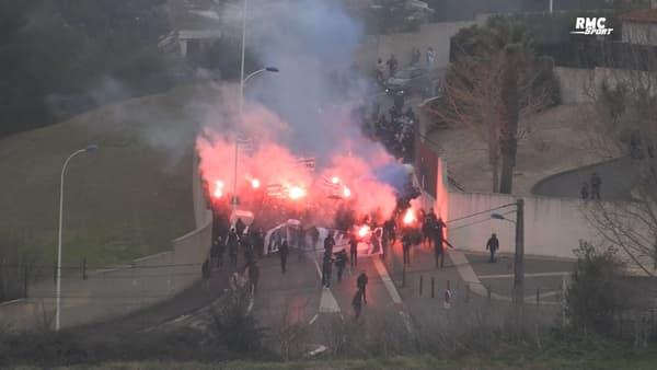 L'action des supporters marseillais