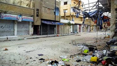 Une photo de Homs prise en février dernier.