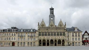 Vue de Saint-Quentin