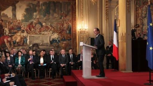 François Hollande a rassuré les acteurs du monde de l'économie à l'occasion de sa conférence de presse du 13 novembre.